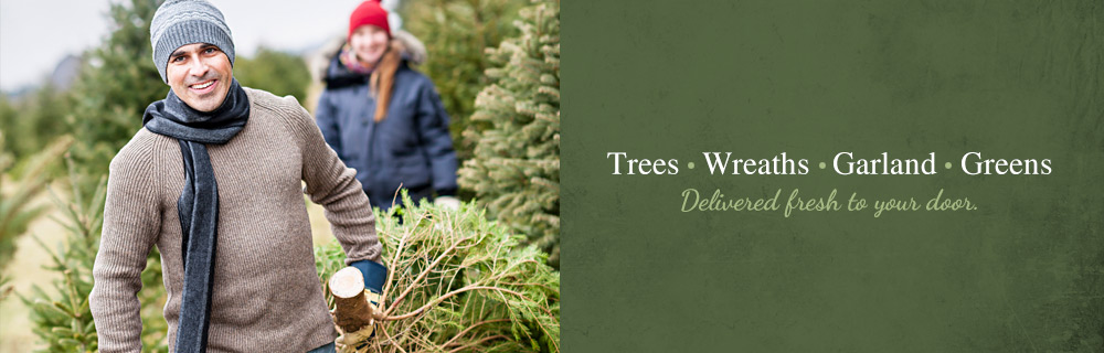 Christmas Trees, Wreaths, Garland and Greens