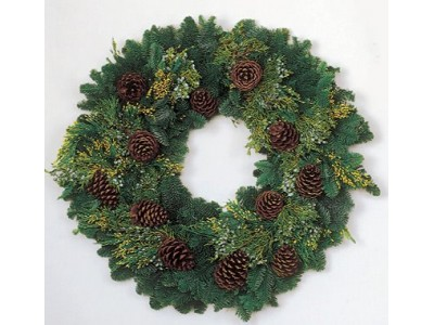 Christmas Wreath Delivery
