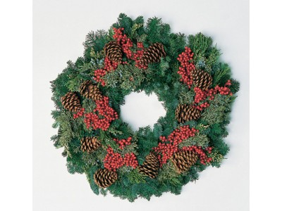 Live Christmas Wreaths