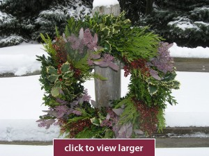 Charleston Christmas Wreath