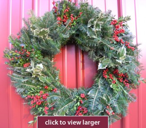 Festival Christmas Wreath