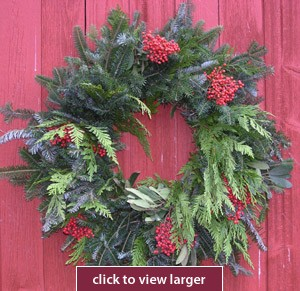 Great Lakes Christmas Wreath