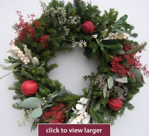 Kringle Christmas Wreath