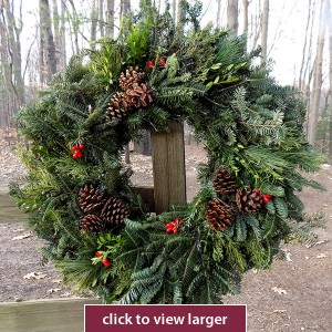 Holiday Masterpiece Christmas Wreath