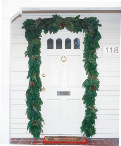 Door Garland & Door Garland | Fresh Christmas Wreaths