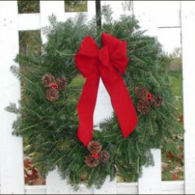 Fresh Christmas Wreaths.Wreaths Fresh Christmas Wreaths