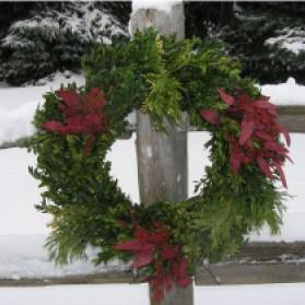 Bayside Christmas Wreath