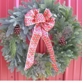 Celebration Christmas Wreath