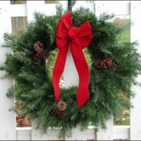 Douglas Fir Christmas Wreath