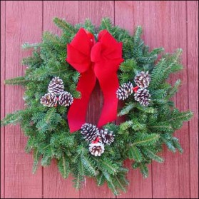 Fraser Fir Christmas Wreath