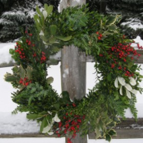 Legend Christmas Wreath