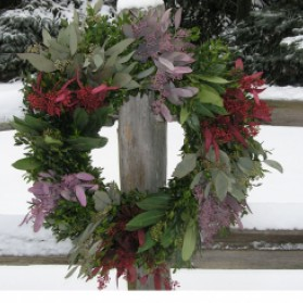 Savannah Christmas Wreath