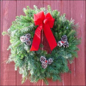 Four Firs Wreath