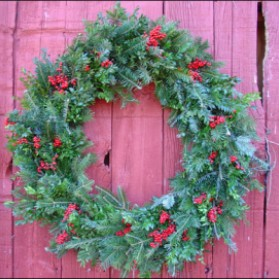 Christmas Classic Wreath