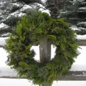 Wolverine Christmas Wreath