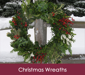 Premium Fresh Christmas Wreaths Delivered To Your Front Door